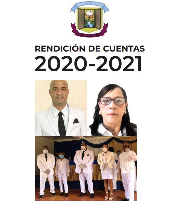 RENDICIÓN DE CUENTAS 2020-2021